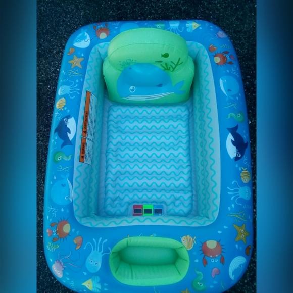 Parents Choice Accessories Parents Choice Inflatable Safety Bathtub Poshmark
